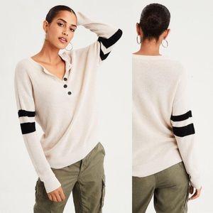 AE Varsity Henley Sweater